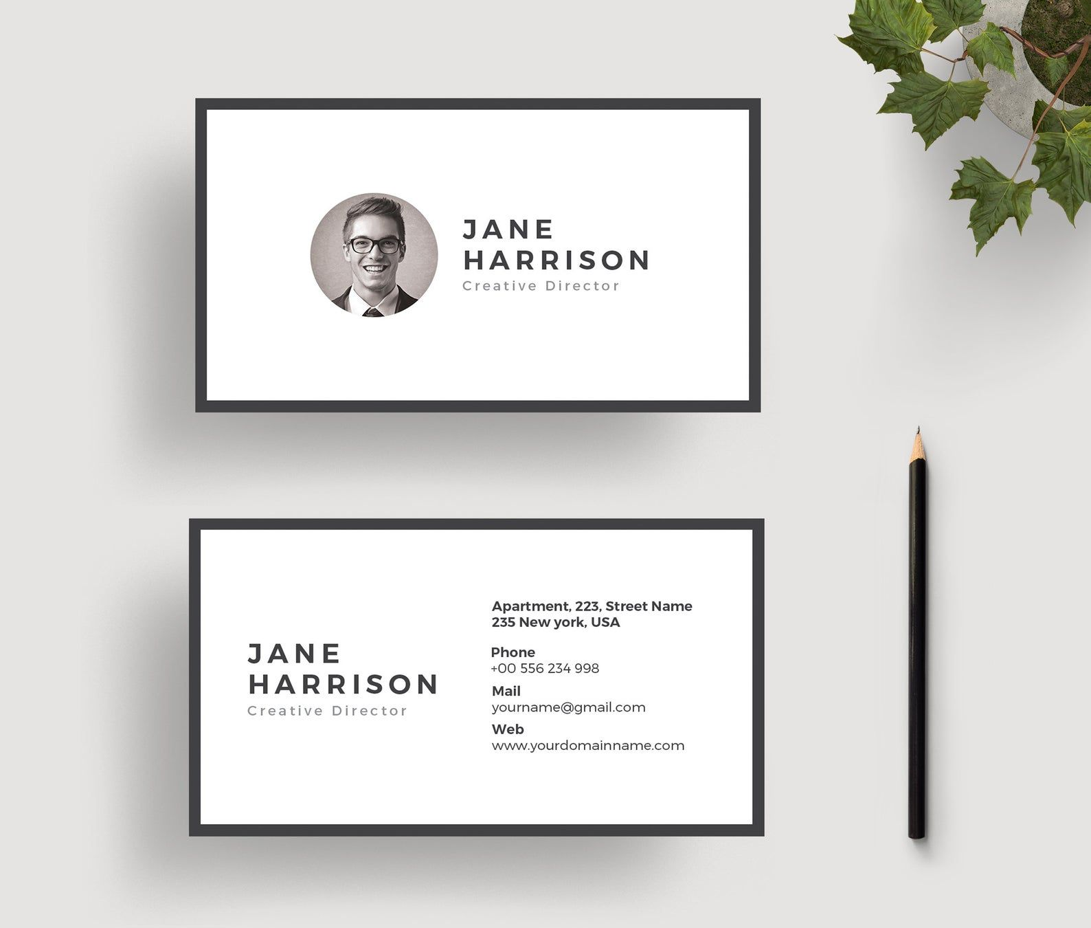 Business Card Template Business Card Design Ms Word Business Etsy Business Cards Creative Business Card Design Business Card Template