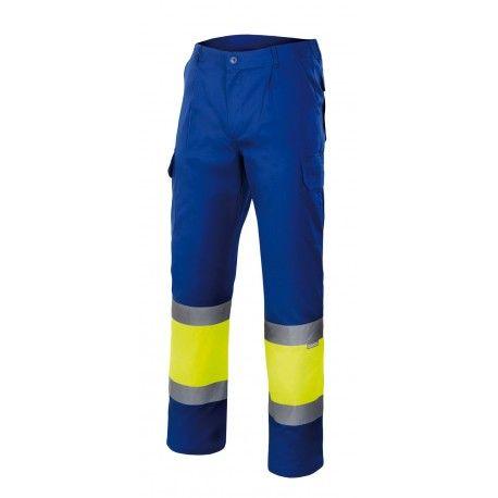Pantalon Bicolor Alta Visibilidad Forrado Serie 156 Velilla Pantalones Bicolor Pantalones Chaquetas