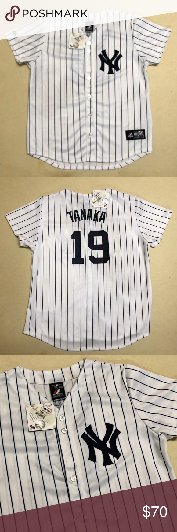 outlet store 969dd eb10f New York Yankees - NEW Authentic Tanaka Jersey ⚾️ New York ...