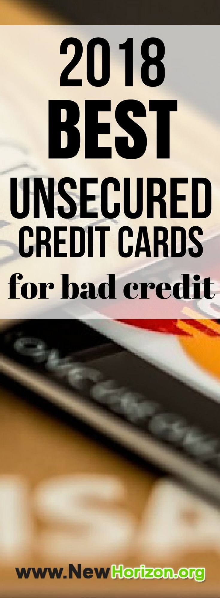 Credit Cards For Bad Credit >> Unsecured Credit Cards Bad No Credit Bankruptcy O K