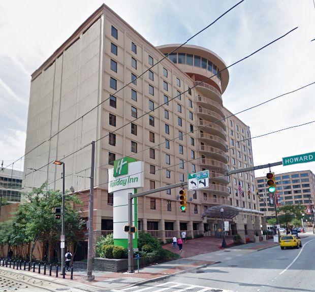 Holiday Inn, 301 W Lombard St, 21201