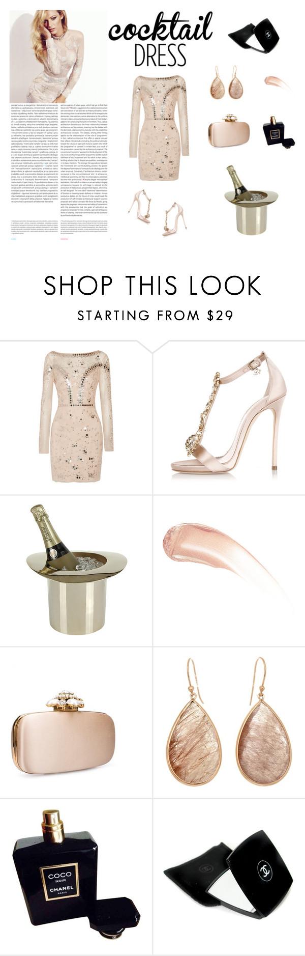 """Untitled #79"" by krisztismind ❤ liked on Polyvore featuring mode, Temperley London, Dsquared2, Lunares, Wander Beauty, Oscar de la Renta, Oris, Chanel, cocktaildress en luxury"