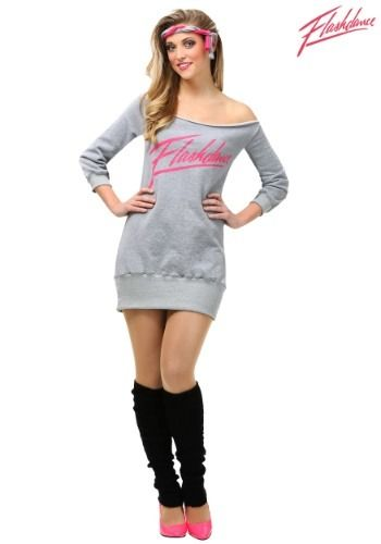 Go with a classic 80 s look in our exclusive women s plus size Flashdance  costume. cabbd6207816