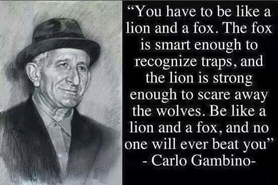 Pin By Rs On So True Carlo Gambino Life Quotes Mafia