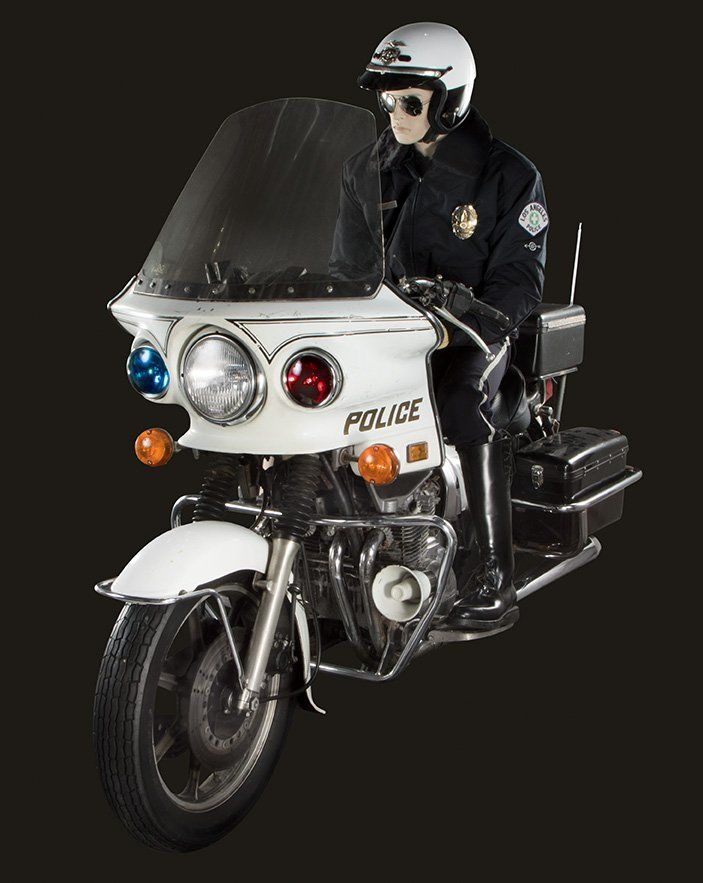 The Terminator 2 Judgement Day T 1000 Police Kawasaki Motorcycle
