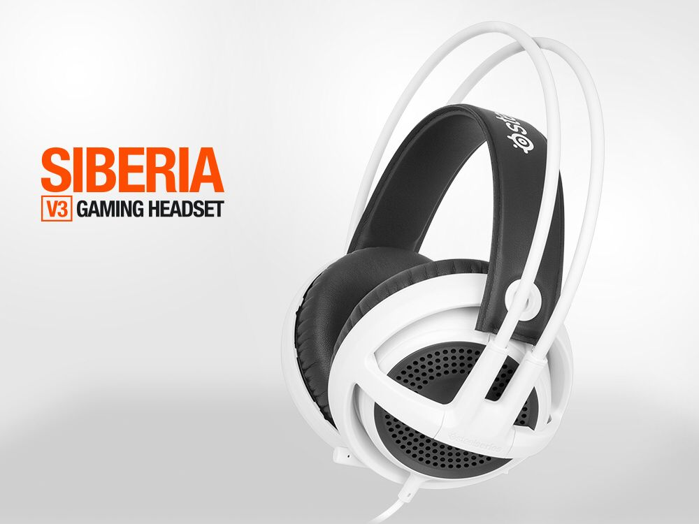 c991f7ee07c Info DEXTech: New Coming Product Headset Steelseries Siberia V3  (Black/White) Harga: Rp. 1.270.000 (PM for Best Price) Features: PREMIUM  COMFORT RICH ...
