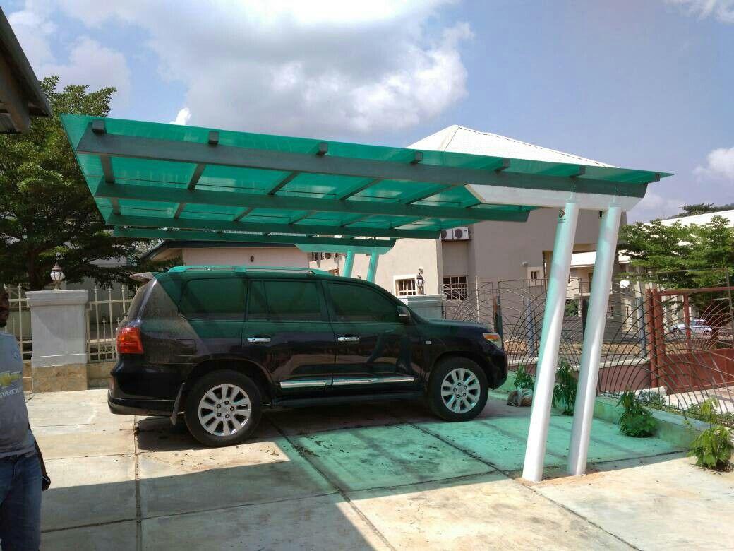 One of the best metal pergola carport built by iyke xceptionx