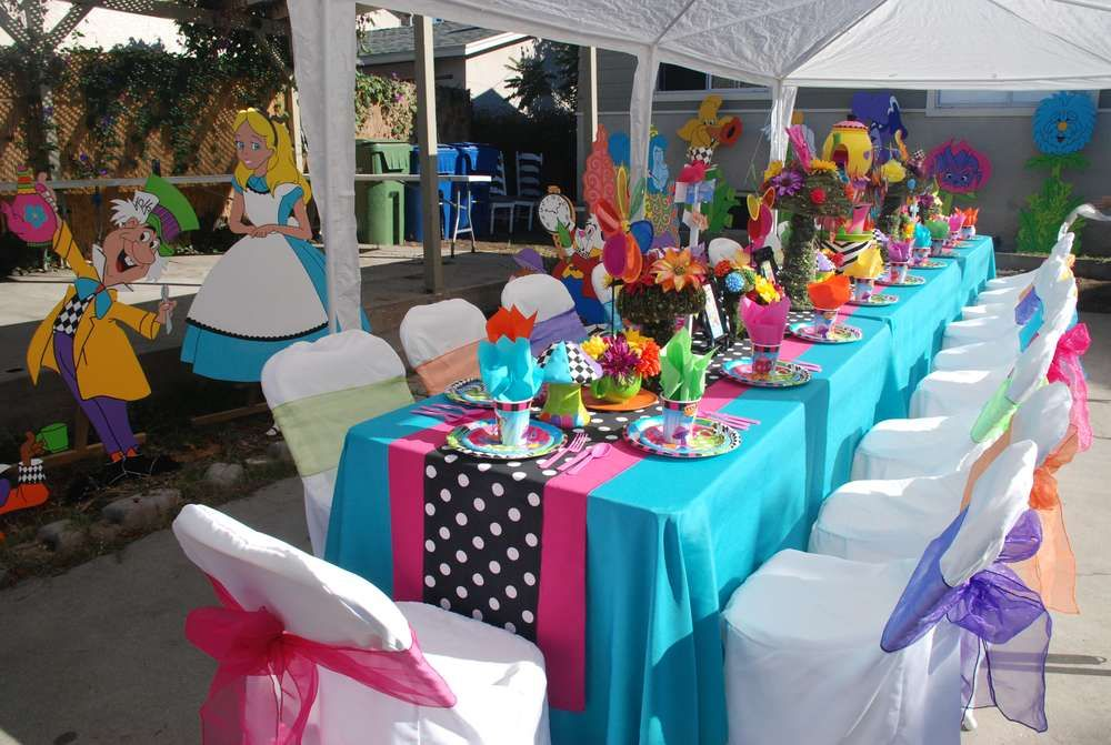 Alice in Wonderland, Mad Tea Party Birthday Party Ideas | Photo 5 of 10 | Catch My Party
