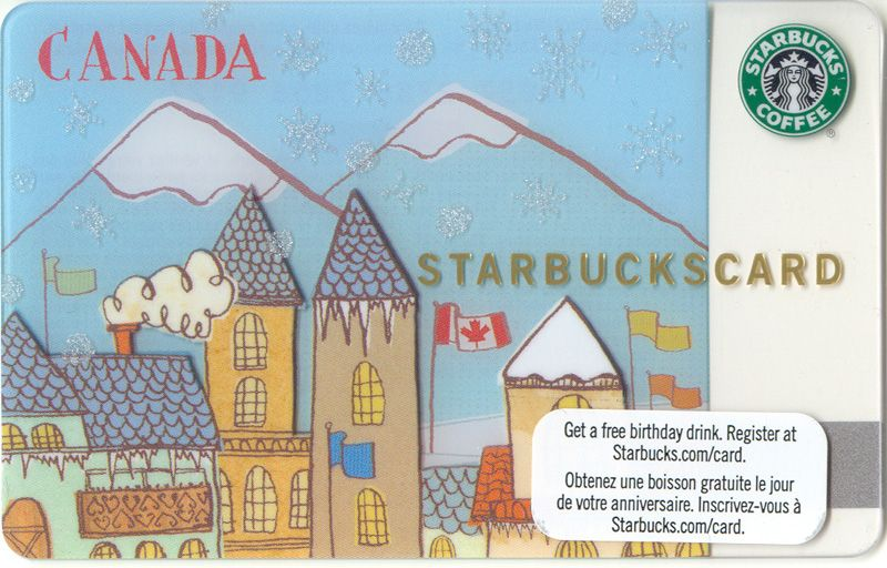 Olympic Village or Winter Olympics 2010 Card
