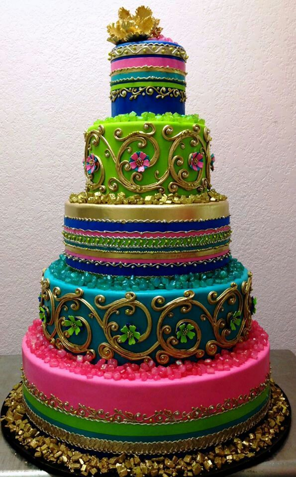 Best Styled Cakes Cake Ever By Bronwen Weber Indian Moroccan Style