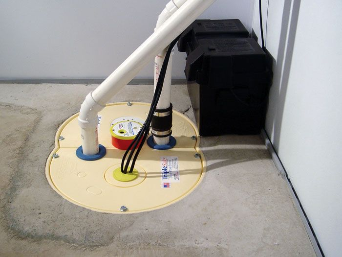 An Indoor Or Outdoor Sump Pump With Images Waterproofing Basement Sump Pump