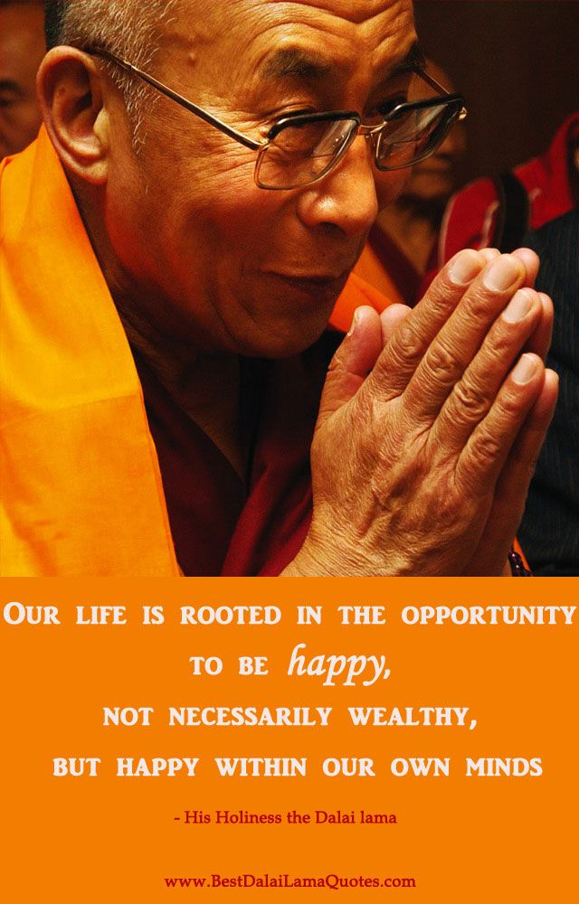i usually say the aim of life is to be happy best dalai lama quotes