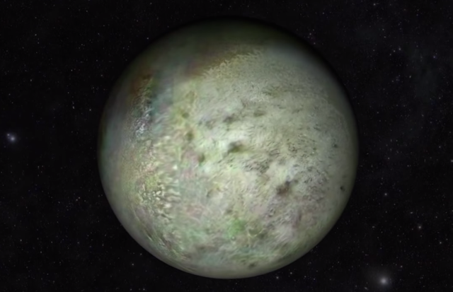 Fly Past Neptune's Moon Triton in this Video Made from