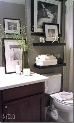 Decorating Ideas For That Wall Behind The Loo Kelly Bernier Designs