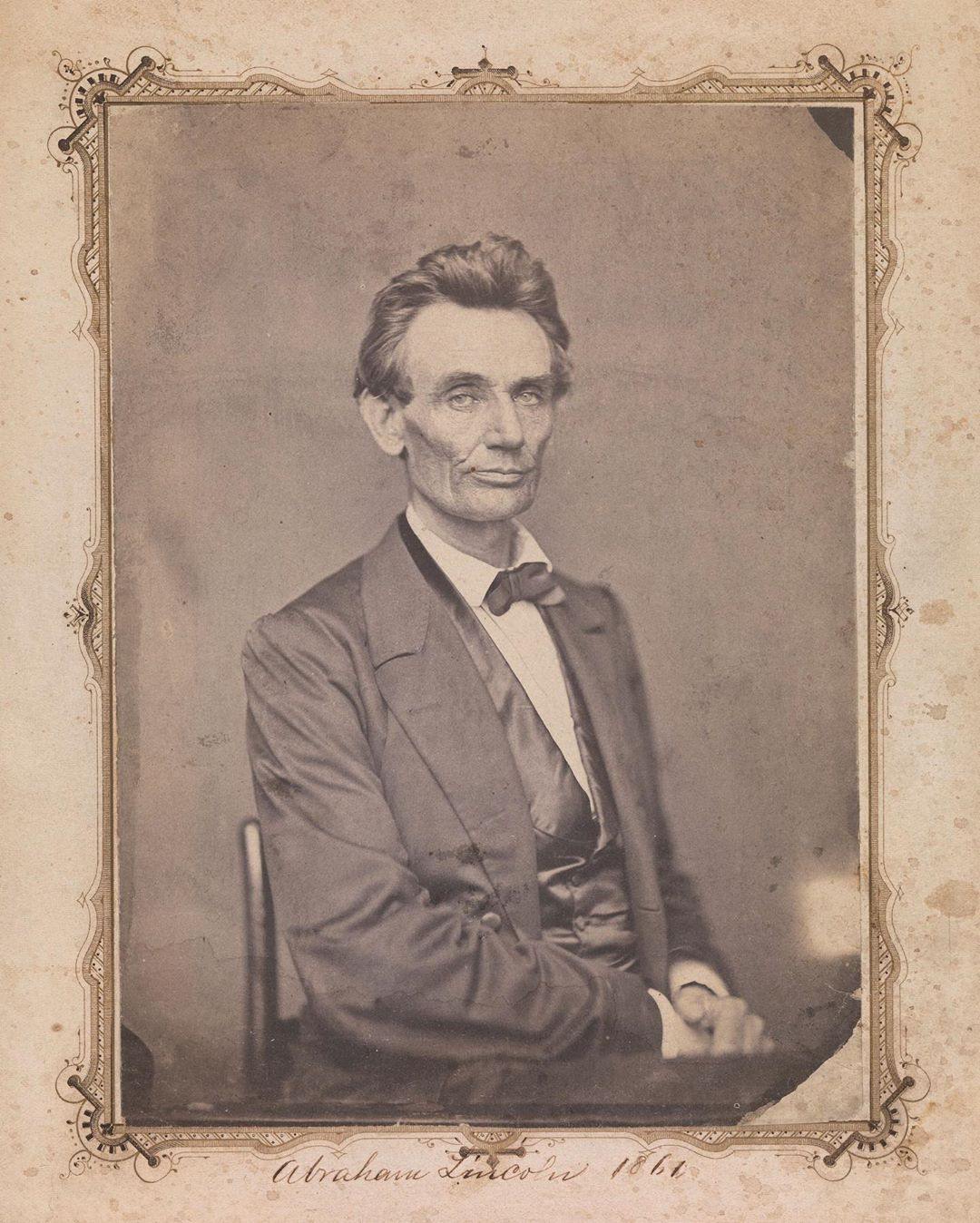 Of The More Than 100 Known Photographs Of Abrahamlincoln Born