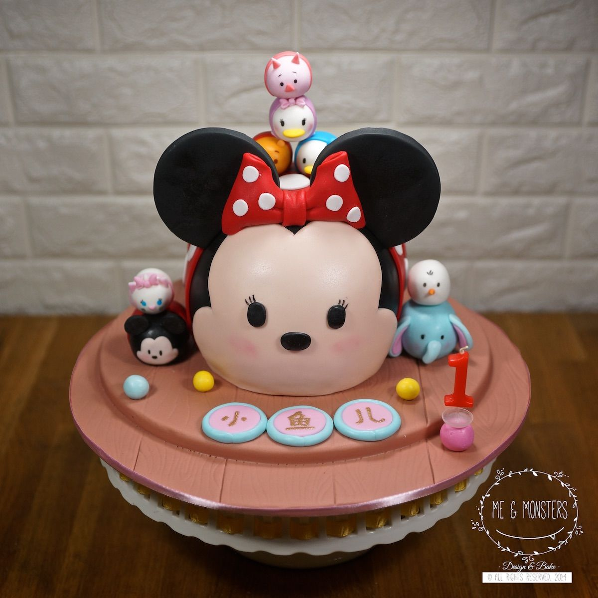 Tsum Tsum 3D cake Cakes for Kids Party Pinterest 3d cakes