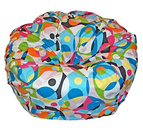 Ahh! Products Kaleidoscope Cotton Washable Large Bean Bag