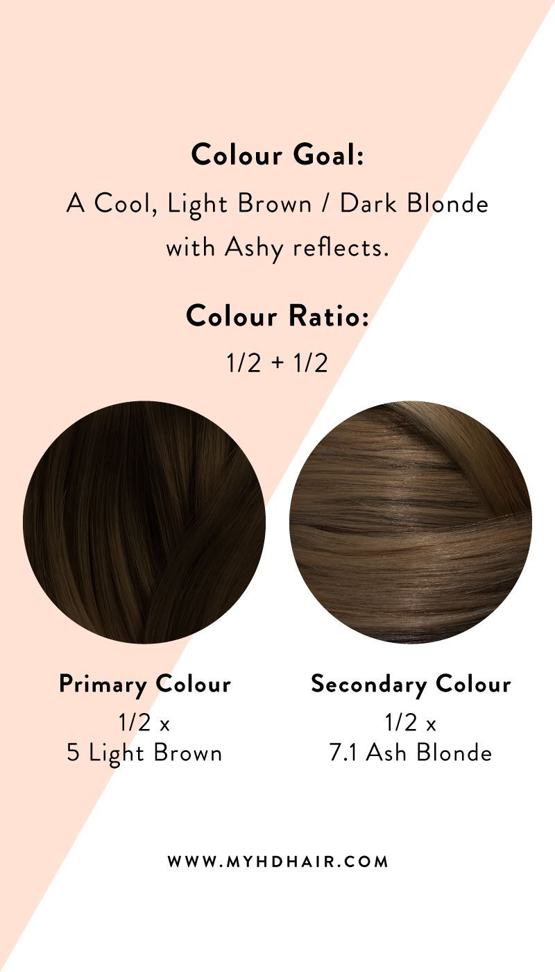 Hair 101 How To Mix Two Hair Colours Together In 2020 Mixing Hair Color Hair Color Formulas Dark Chocolate Hair
