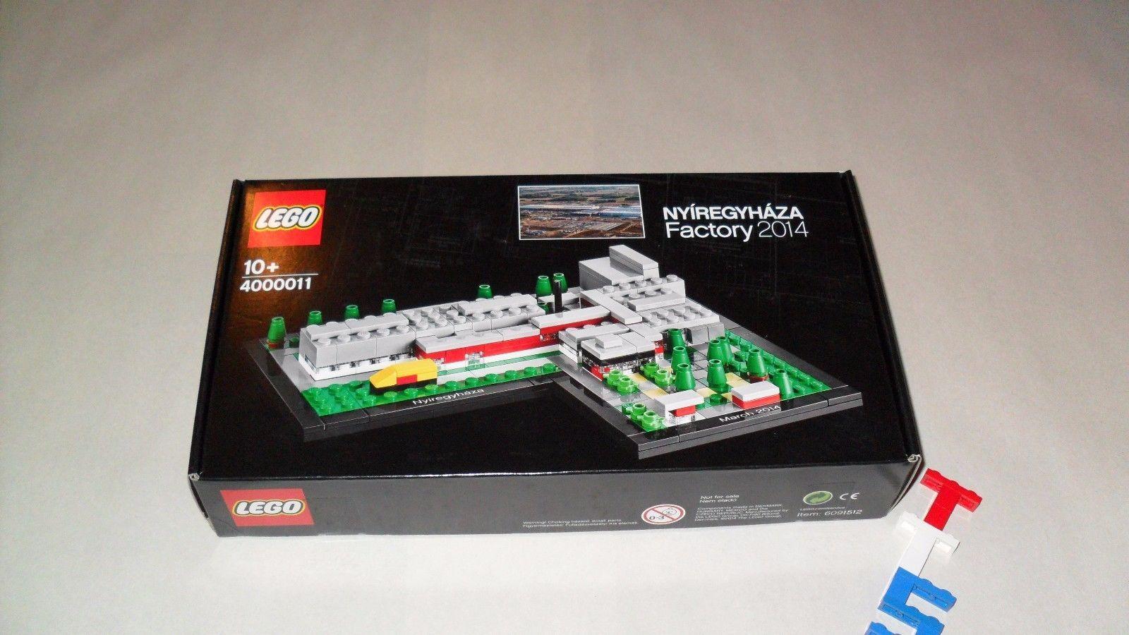 New Sealed LEGO 4000011 Nyiregyhaza Factory Set Employee