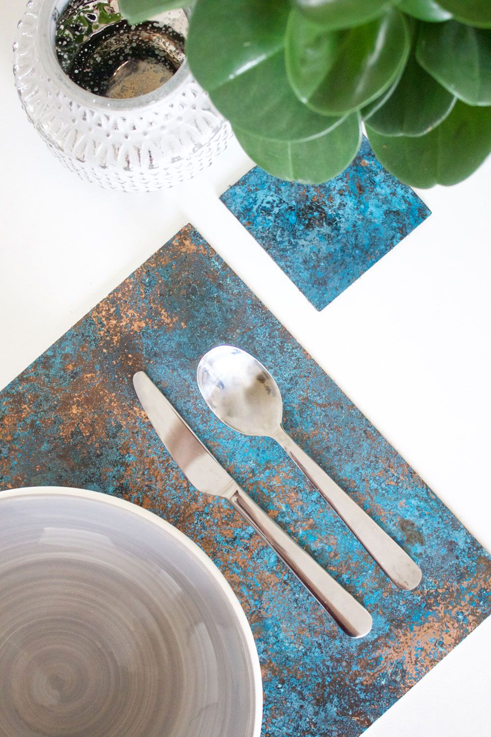 Danielle Folkes Designs Patinated Copper Placemat Things To Sell Copper Junior Product Designer