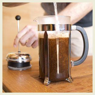 Fair Trade Organic Coffee French Press Brewing   Kickapoo Coffee Roasters
