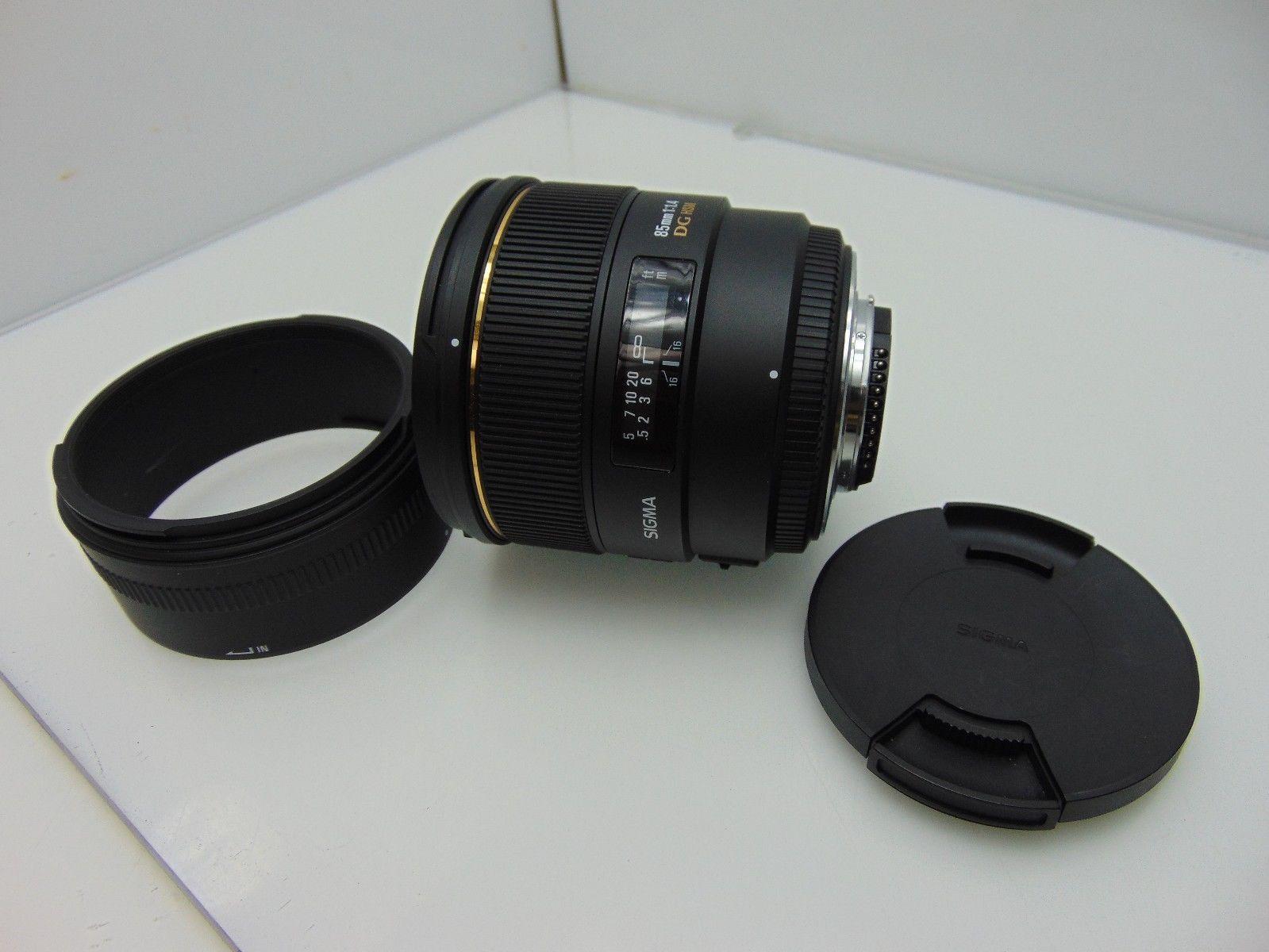 Sigma 85mm f/1.4 EX DG HSM Large Aperture Medium Telephoto Prime Lens Nikon https://t.co/jhbwHUkRX8 https://t.co/fNQRqTdVbb