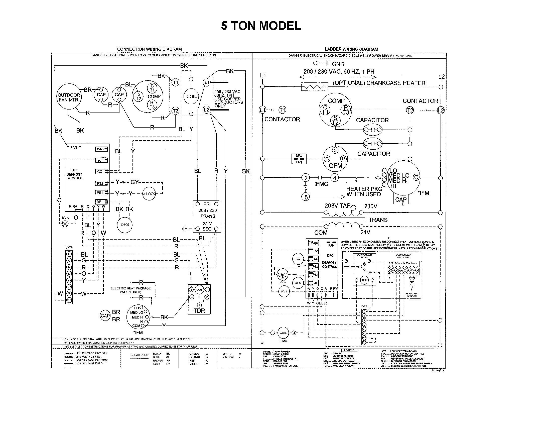 New Wiring Diagram Ruud Ac Unit Thermostat Wiring Trane Heat Pump Carrier Heat Pump