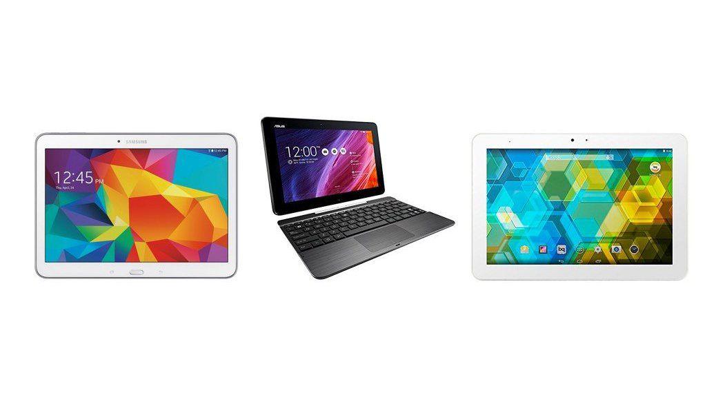 Los 3 mejores tablets por menos de 250 euros en 2015