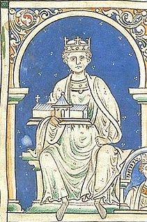 King Henry II of England. Plantagenet dynasty. Count of Anjou, Count of Maine, Duke of Normandy, Duke of Aquitaine, Count of Nantes, and Lord of Ireland. (28th great grandfather on mom's side)
