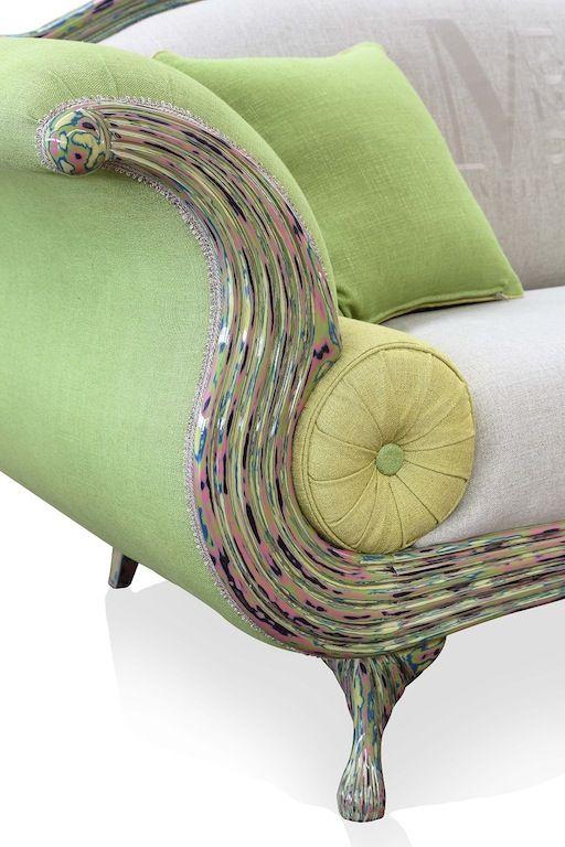 Pingl par les ateliers dolce vita sur sofas cie fauteuil original mobilier de salon et - Fauteuil original salon ...