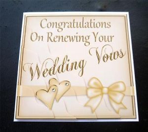 Congratulations On Renewing Your Wedding Vows Renewal Card Wedding Vows Renewal Wedding Vows Wedding Renewal Vows