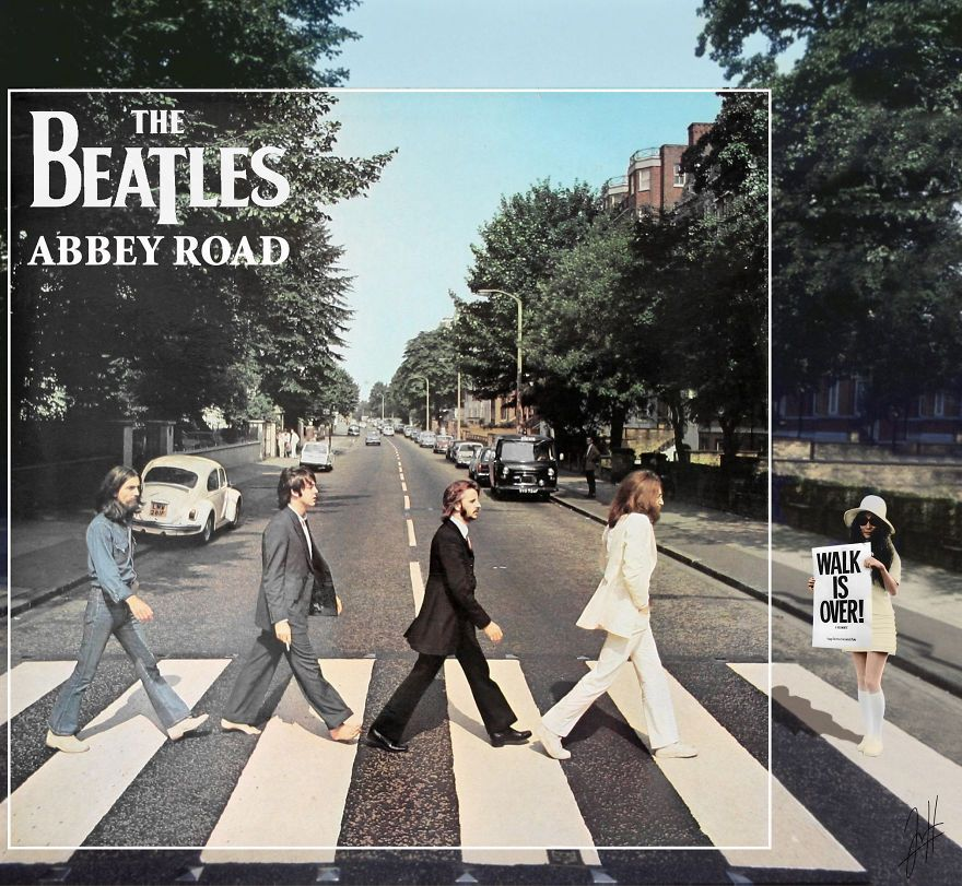 The Beatles Abbey Road Muziek Beroemdheden Foto S Herinneringen