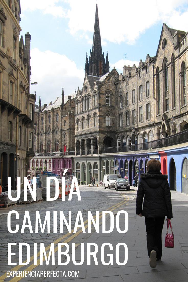 En Un Día Puedes Recorrer Edimburgo Caminando Y Conocer Los Lugares Más Importantes De La Ciudad Listo Para Armar Las Mal Edimburgo Viajar Por El Mundo Viajes
