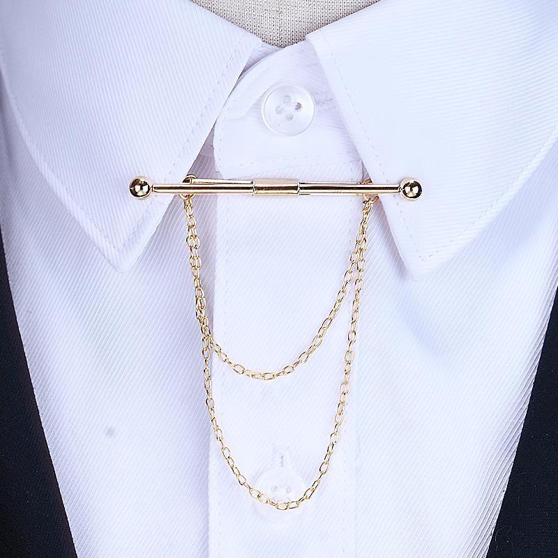 Camisa Cuello Pin Broche Corbata Pin Joyería Accesorio para hombres y mujeres