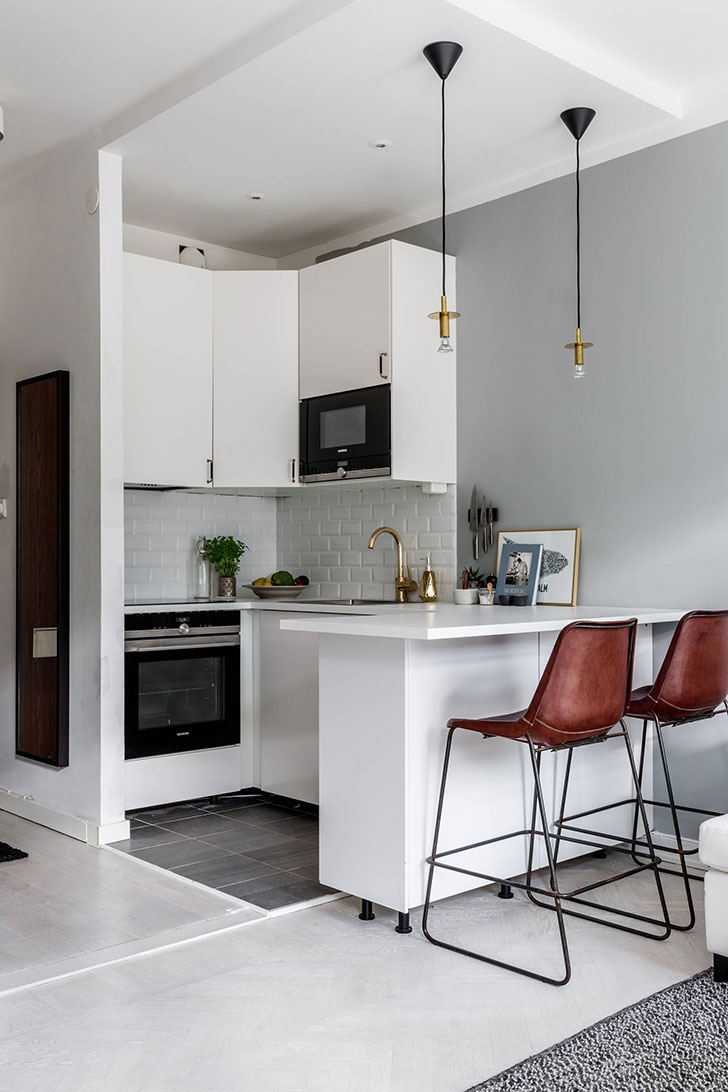 Compact studio apartment in Stockholm (26 sqm)