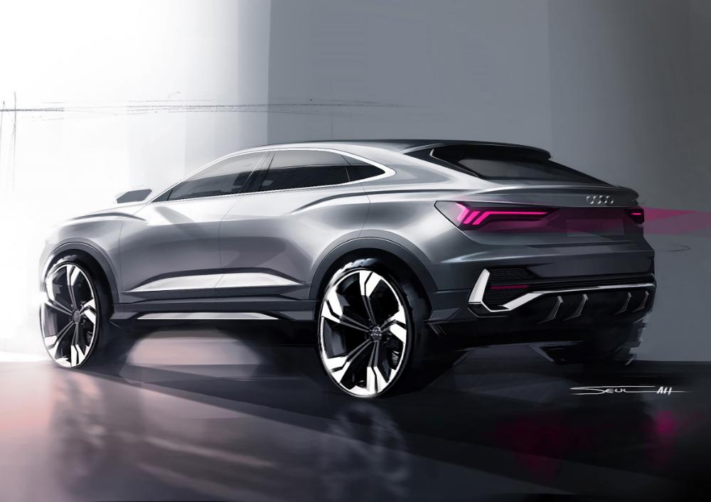 Audi Q3 Sportback Compact Suv Coupe Auto Design Audi Q3 Automotive Design Design