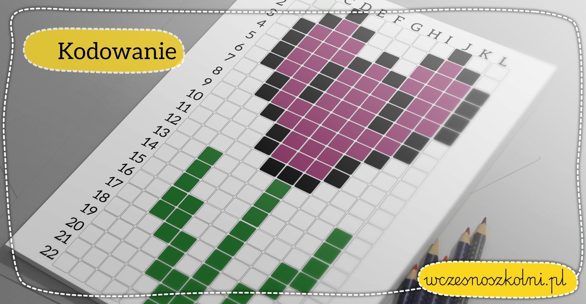 Wiosenne Kodowanie Krokus Nauczyciele Wczesnoszkolni Perler Bead Patterns Beading Patterns Pattern