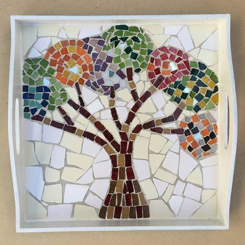 Resultado de imagen para mosaiquismo dise os arbol for Dibujos para mosaiquismo