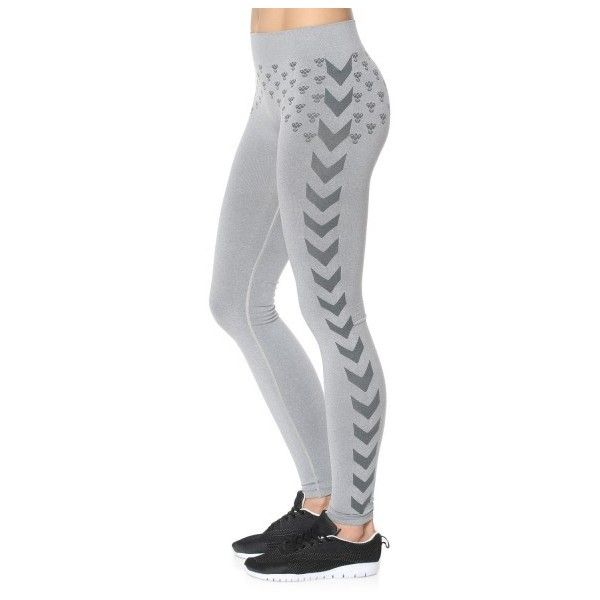e93f44d8c1b Hummel Fashion Cloe leggings ❤ liked on Polyvore featuring pants ...