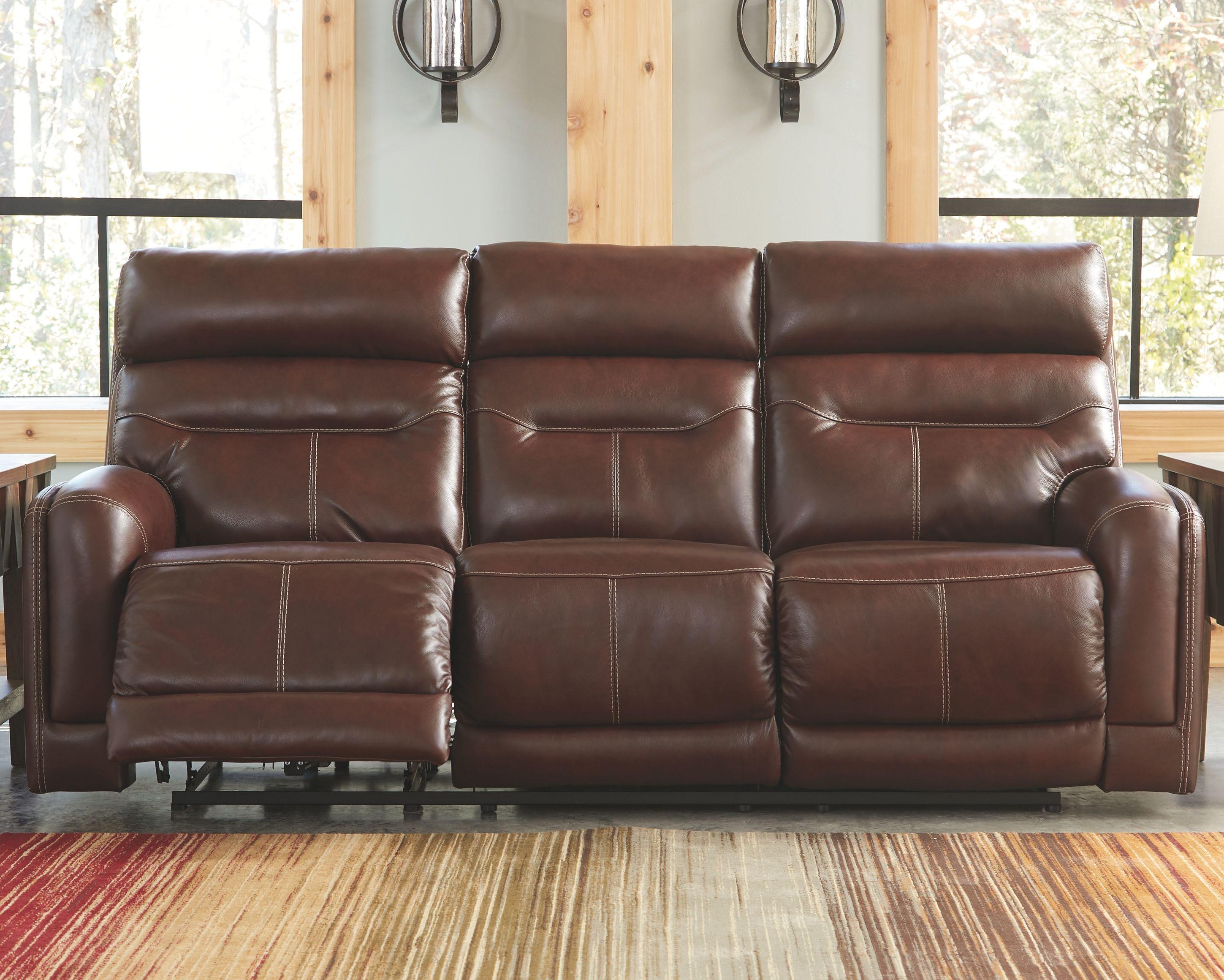 Sessom Power Reclining Sofa Ashley Furniture Homestore Power Reclining Sofa Reclining Sofa Power Recliners