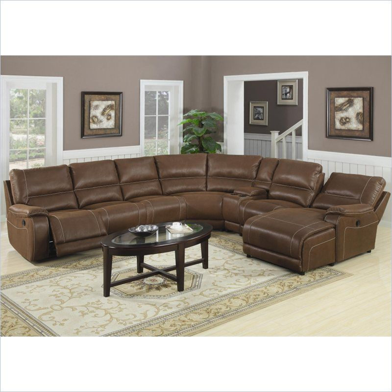 Fine Coaster Loukas Extra Long Reclining Sectional Sofa W Chaise Uwap Interior Chair Design Uwaporg
