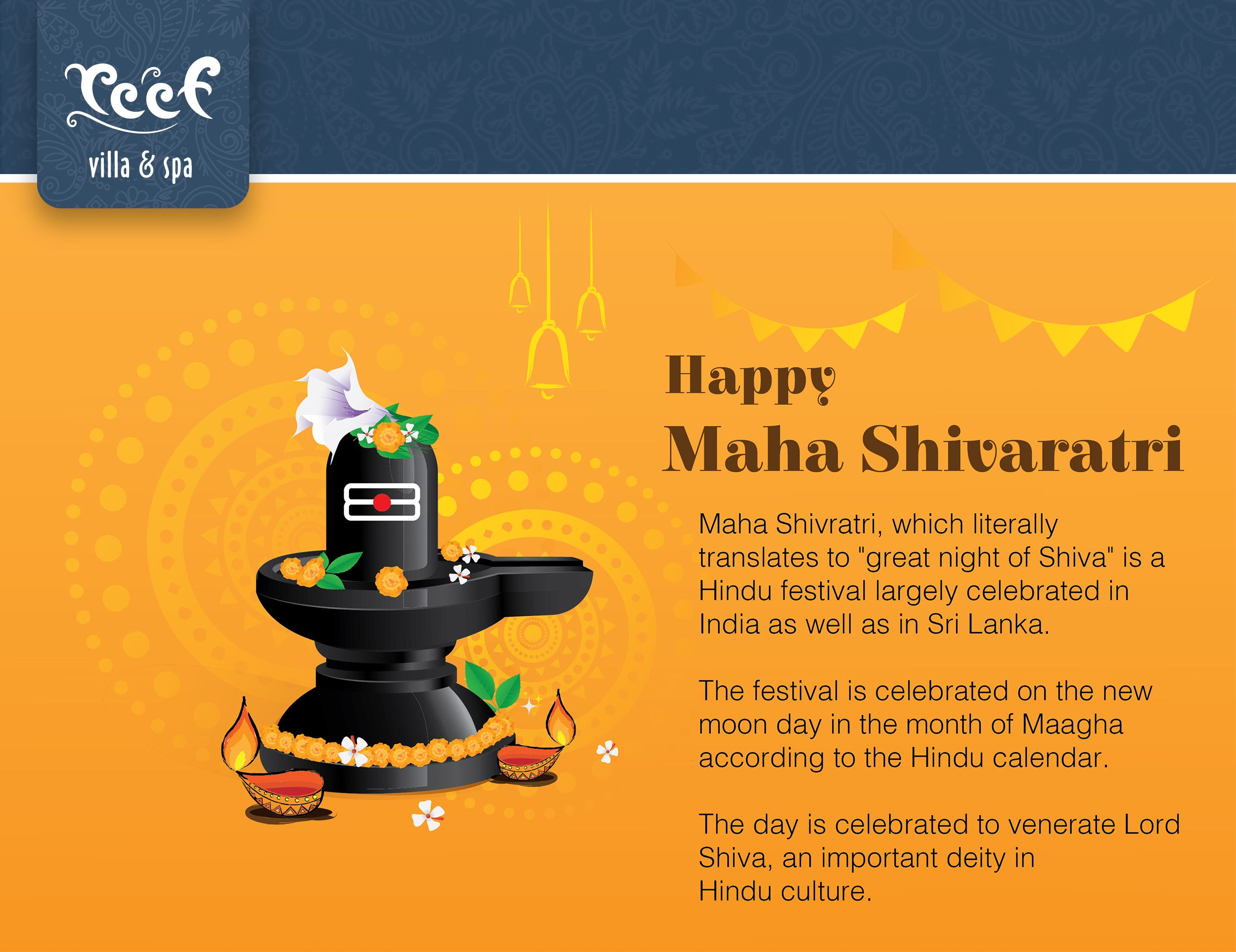"Maha Shivratri, which literally translates to ""great night"