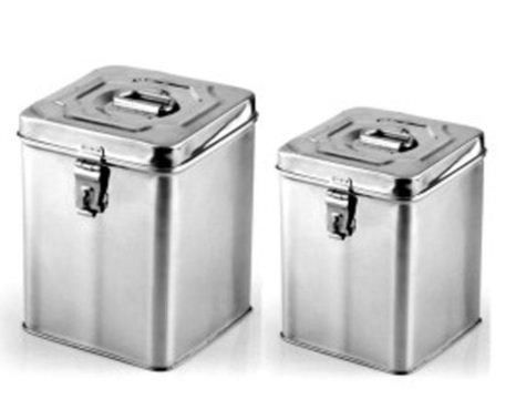 Size Height 9 Thugil Online India Traditional Stainless Steel Storage Container