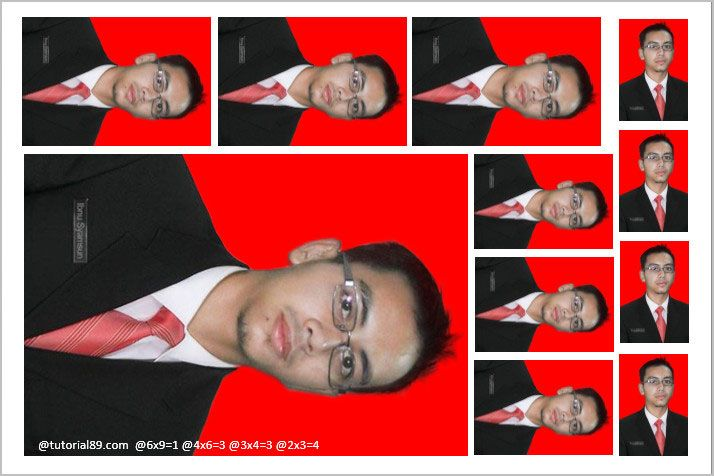 Cara Print Pas Foto Di Word Agar Sesuai Dengan Ukuran Asli Pas Foto Asli