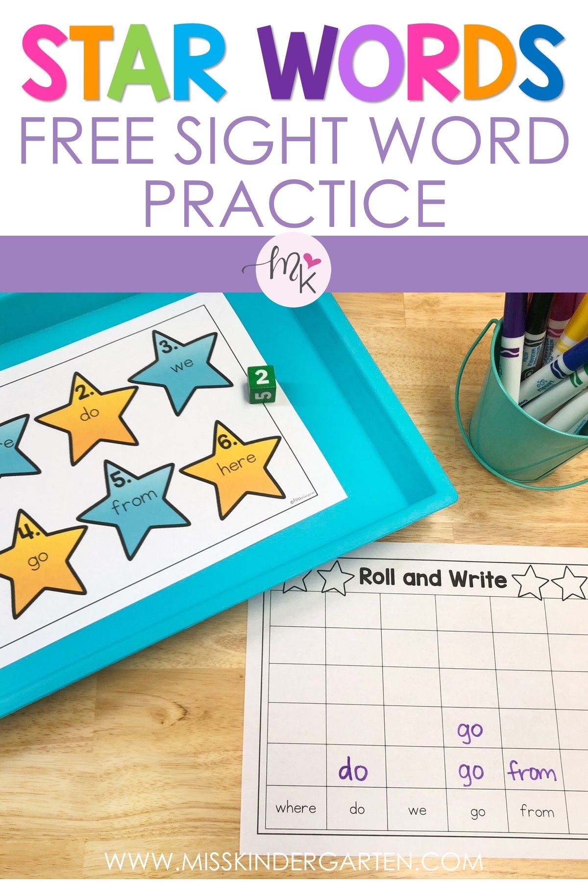 Free Sight Words Practice | Sight words, Sight word ...