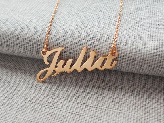 pendant name necklace islamic jewelry chains nameplate muslim custom personalized plate chain l