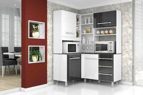 Alacena kit armario mueble modular de cocina esquinero for Mueble aereo cocina uruguay