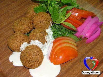 دنيتي عمل الفلافل على الطريقة اللبنانية Lebanese Recipes Food Cooking