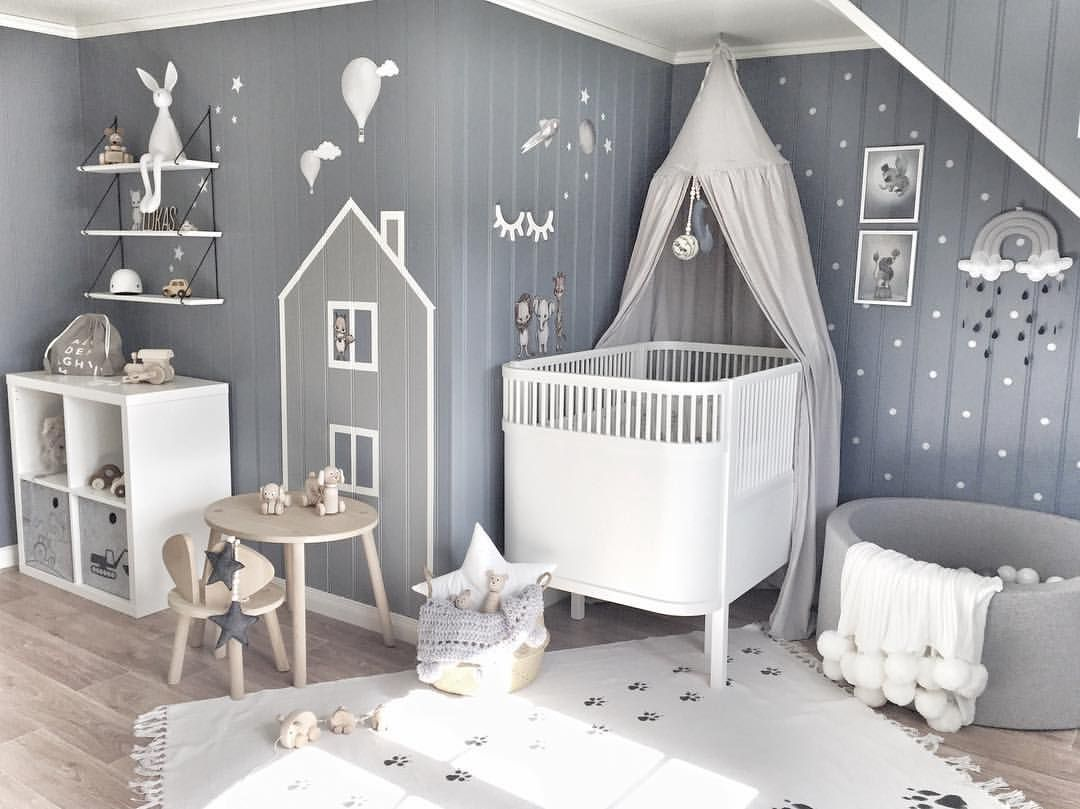 Inspiration From Instagram Grey And White Nursery Boys Room