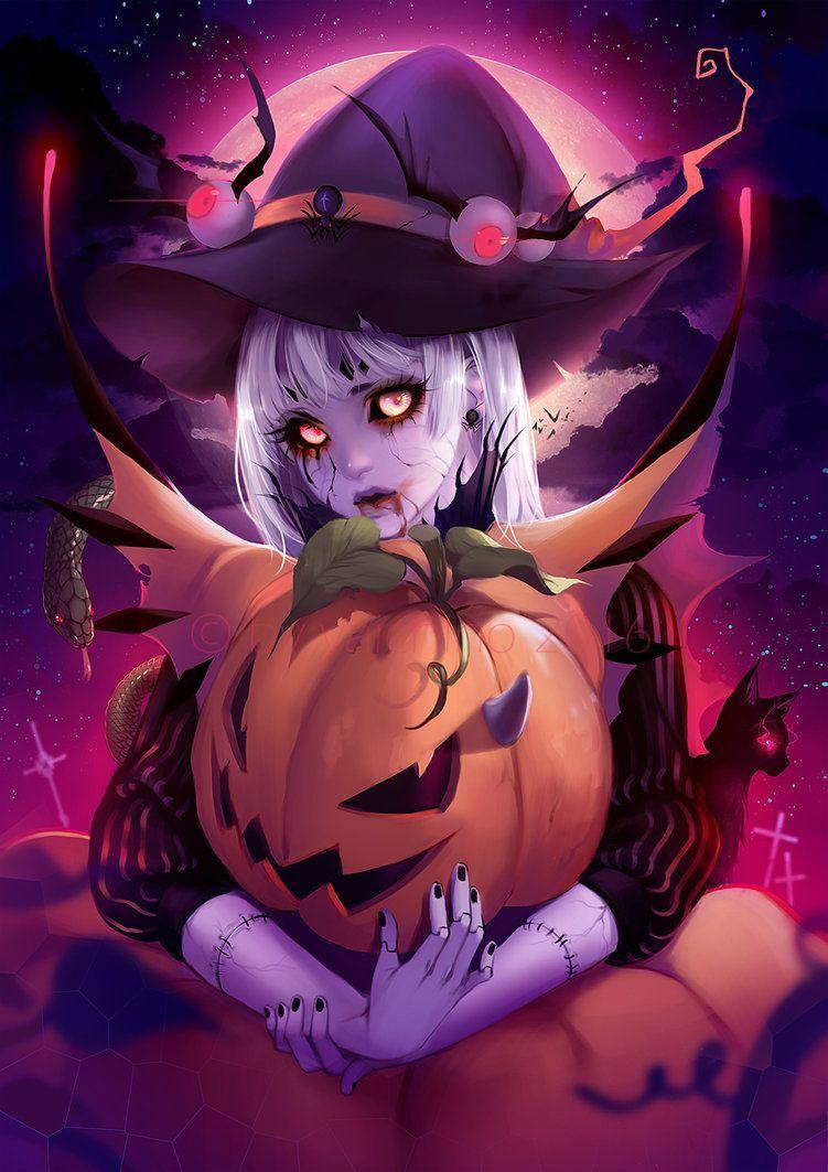Happy Halloween by yaichino on DeviantArt  Anime halloween